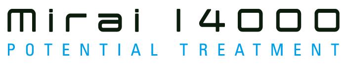 mirai14000(みらい14000)ロゴ